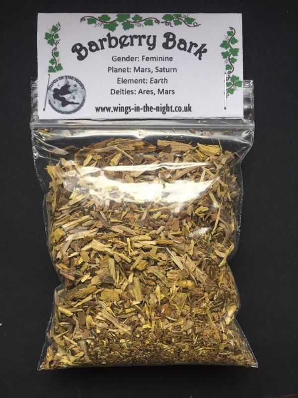 BARBERRY BARK Magical Dried Herb
